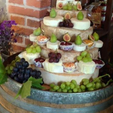 torta frutta e formaggio